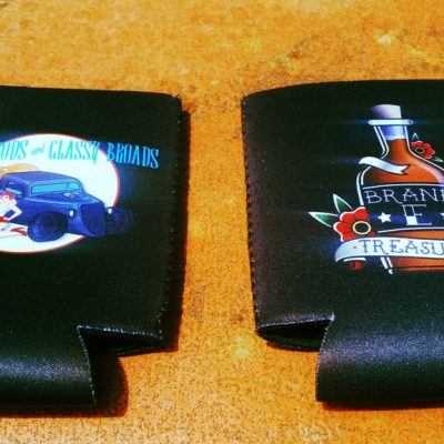 Classic Rods - Insulated Black coozies
