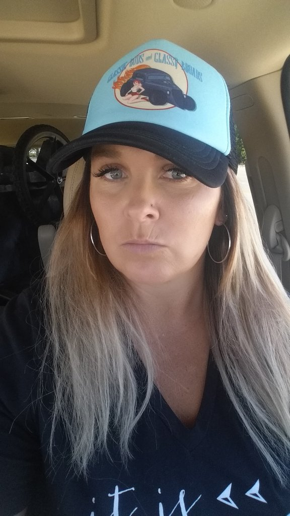 Women's Foam Front Mesh Back Trucker Hats Full Color Print